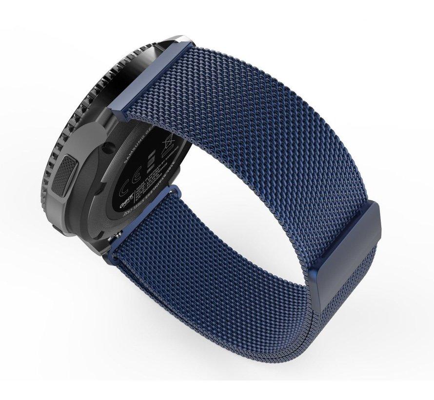 Strap-it® Samsung Gear S3 Milanese band (blauw)