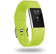 Strap-it® Fitbit Charge 2 siliconen bandje (lichtgroen)