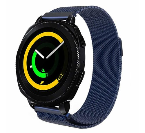 Strap-it® Strap-it® Samsung Gear Sport Milanese band (blauw)