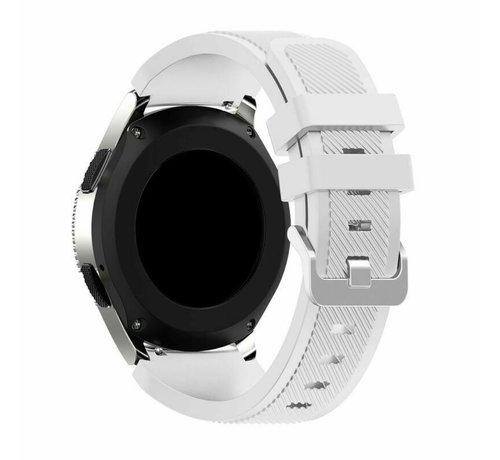 Strap-it® Strap-it® Garmin Forerunner 245 / 645 silicone band (wit)