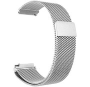 Strap-it® Garmin Forerunner 245 / 645 Milanese band (zilver)