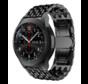 Strap-it® Samsung Galaxy Watch stalen draak band 45mm/46mm (zwart)