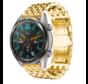 Strap-it® Huawei Watch GT stalen draak band (goud)