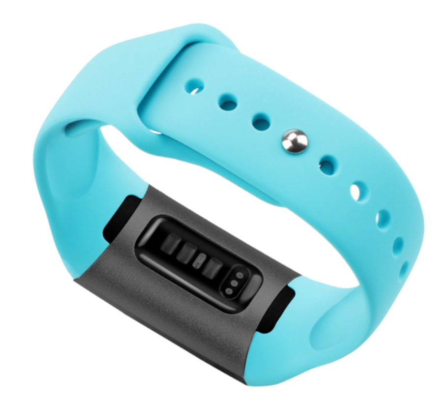 Strap-it® Fitbit Charge 3 sport bandje (blue sea)