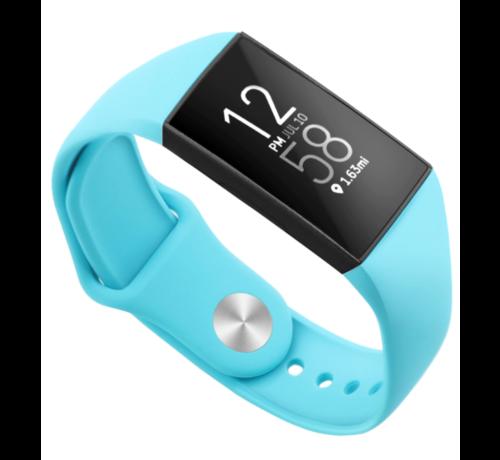 Strap-it® Strap-it® Fitbit Charge 3 sport bandje (blue sea)