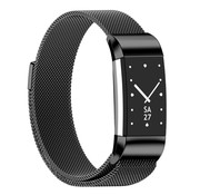Strap-it® Fitbit Charge 2 Milanese band (zwart)