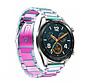 Strap-it® Huawei Watch GT stalen band (regenboog)