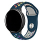 Strap-it® Garmin Vivoactive 3 sport band (dennengroen kleurrijk)