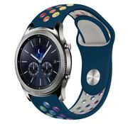 Strap-it® Samsung Gear S3 sport band (dennengroen kleurrijk)