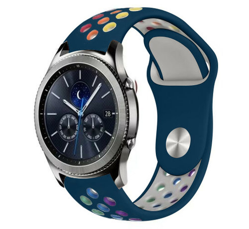 Strap-it® Strap-it® Samsung Gear S3 sport band (dennengroen kleurrijk)