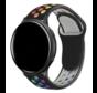 Strap-it® Garmin Vivoactive 4 sport band - 45mm - zwart/kleurrijk