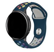 Strap-it® Garmin Vivomove HR sport band (dennengroen/kleurrijk)