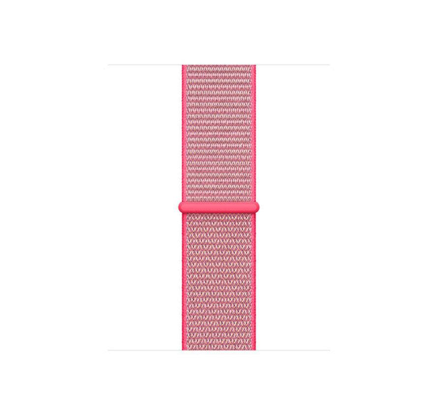 Strap-it® Apple Watch SE nylon band (knalroze)