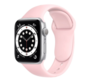 Strap-it® Apple Watch 6 silicone band (roze)