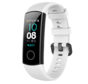 Strap-it® Honor band 4 / 5 siliconen bandje (wit)