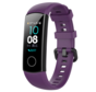 Strap-it® Honor band 4 / 5 siliconen bandje (paars)