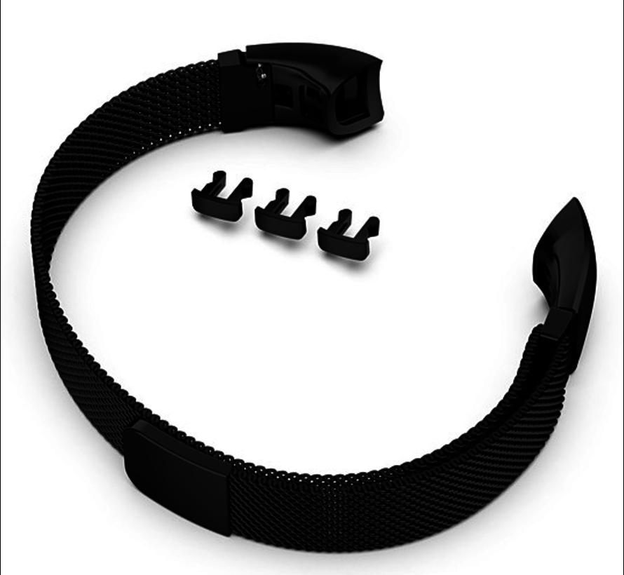 Strap-it® Honor band 4 / 5 Milanese band (zwart)