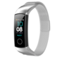 Strap-it® Honor band 4 / 5 Milanese band (zilver)