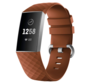 Strap-it® Fitbit Charge 4 silicone band (bruin)