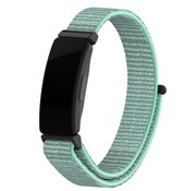 Strap-it® Fitbit Inspire nylon bandje (aqua)