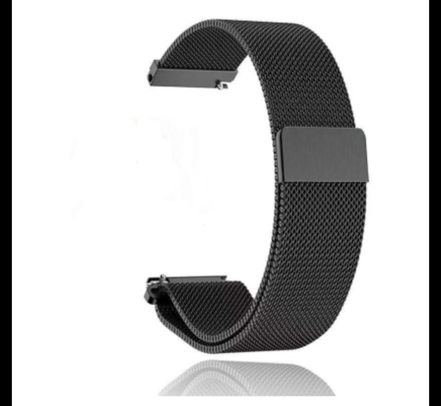 Strap-it® Honor Magic Watch 2 Milanese band (zwart)