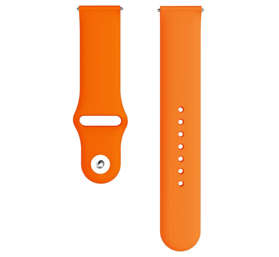 Strap-it® Samsung Galaxy Watch 3 sport band 45mm (oranje)