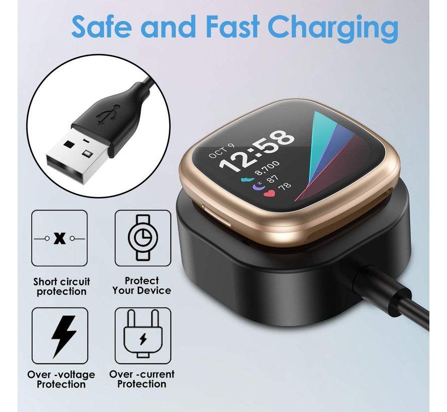Strap-it® Fitbit Sense oplader USB