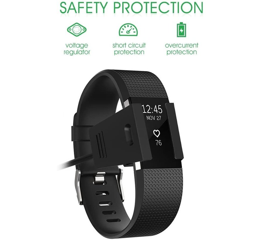 Strap-it® Fitbit Charge 2 oplader