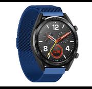 Strap-it® Huawei Watch GT Milanese band (blauw)