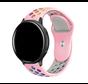 Strap-it® Garmin Vivoactive 3 sport band (roze kleurrijk)