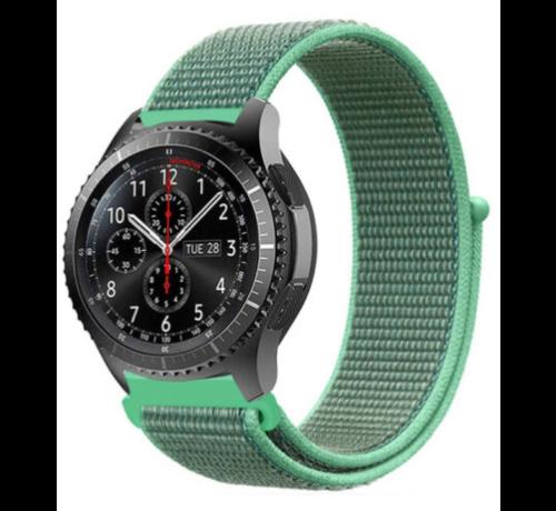 Strap-it® Strap-it® Samsung Galaxy Watch 45mm / 46mm nylon band (mint)
