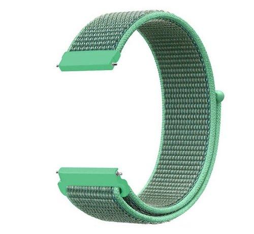 Strap-it® Strap-it® Xiaomi Amazfit Bip nylon band (mint)