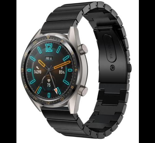 Strap-it® Strap-it® Huawei Watch GT metalen bandje (zwart)