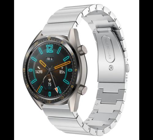 Strap-it® Strap-it® Huawei Watch GT metalen bandje (zilver)