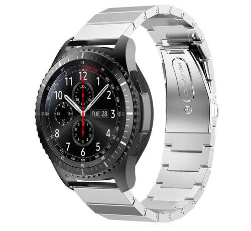Strap-it® Strap-it® Samsung Galaxy Watch 46mm metalen bandje (zilver)