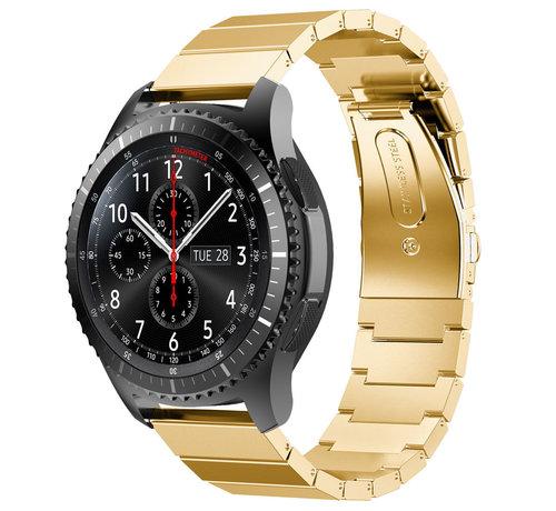 Strap-it® Strap-it® Samsung Galaxy Watch 46mm metalen bandje (goud)
