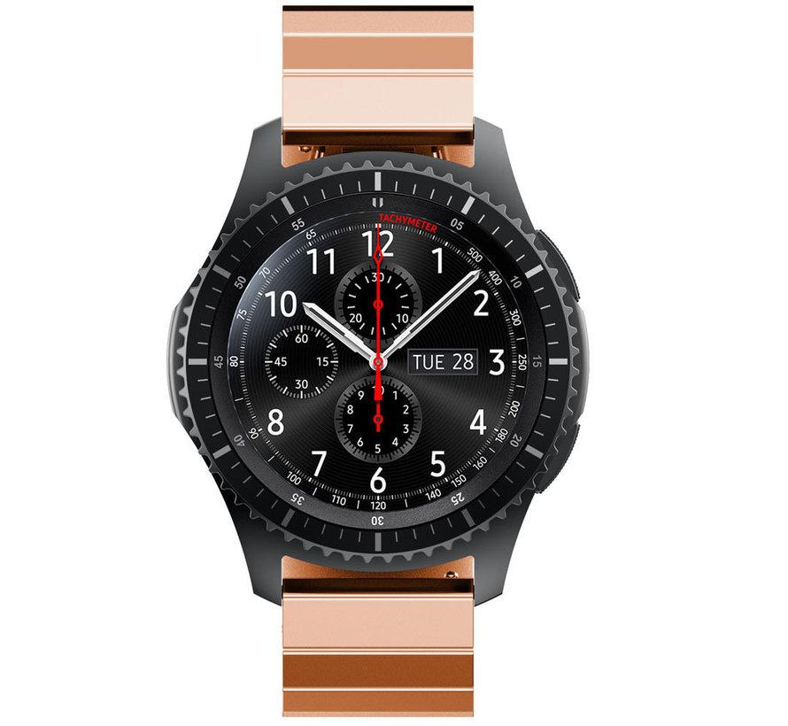 Strap-it® Samsung Galaxy Watch 46mm metalen bandje (rosé goud)