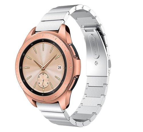 Strap-it® Strap-it® Samsung Galaxy Watch 41mm / 42mm metalen bandje (zilver)