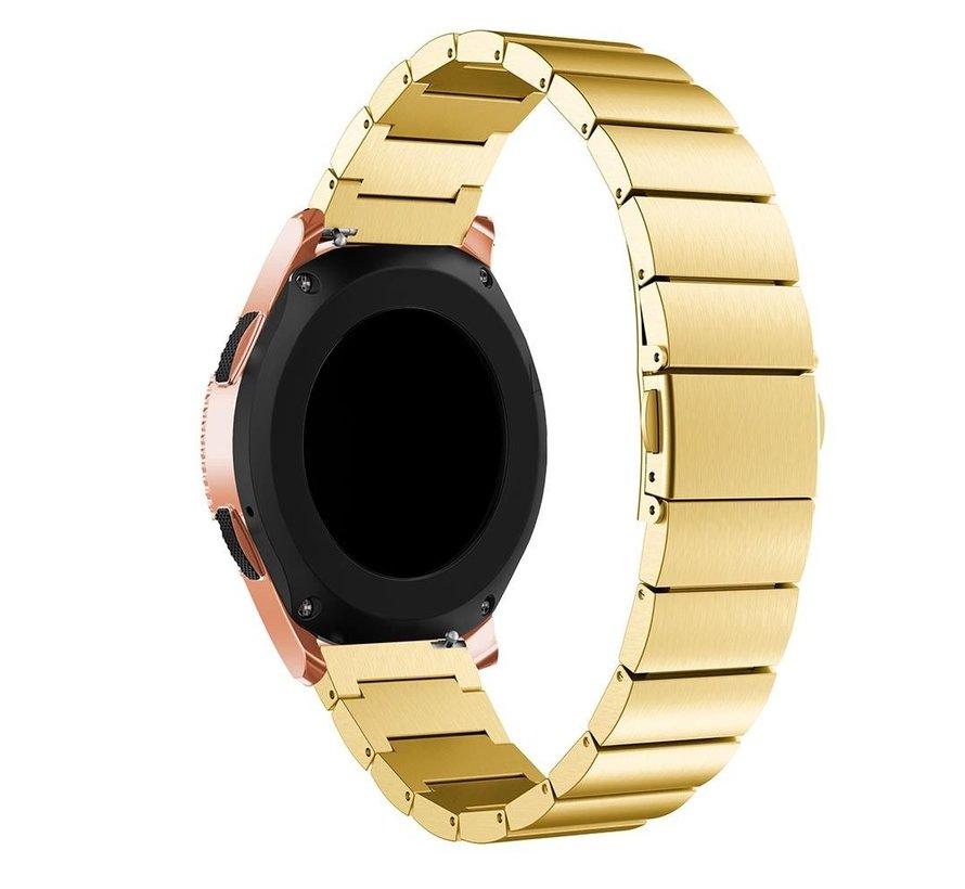 Strap-it® Samsung Galaxy Watch 41mm / 42mm metalen bandje (goud)