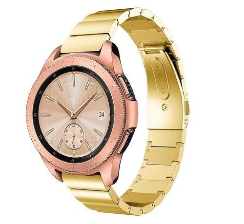 Strap-it® Strap-it® Samsung Galaxy Watch 41mm / 42mm metalen bandje (goud)