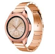Strap-it® Samsung Galaxy Watch 41mm / 42mm metalen bandje (rosé goud)
