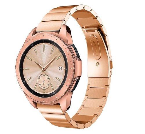 Strap-it® Strap-it® Samsung Galaxy Watch 41mm / 42mm metalen bandje (rosé goud)