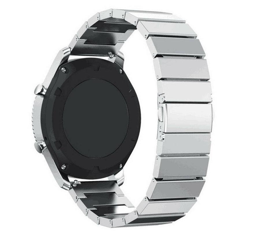 Strap-it® Samsung Gear S3 metalen bandje (zilver)