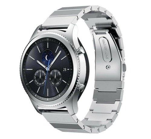 Strap-it® Strap-it® Samsung Gear S3 metalen bandje (zilver)
