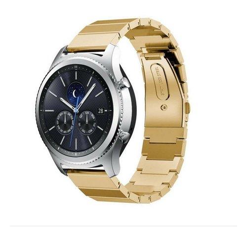 Strap-it® Strap-it® Samsung Gear S3 metalen bandje (goud)