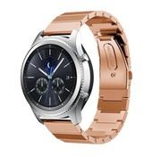Strap-it® Samsung Gear S3 metalen bandje (rosé goud)