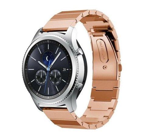Strap-it® Strap-it® Samsung Gear S3 metalen bandje (rosé goud)