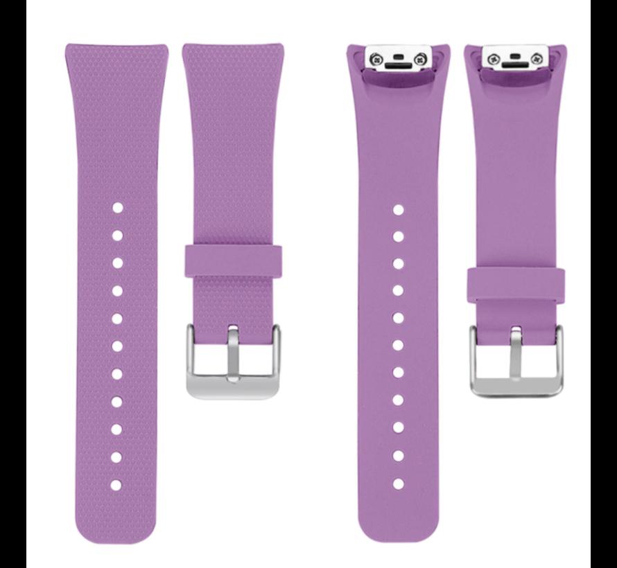 Strap-it® Samsung Gear Fit 2 / Gear Fit 2 Pro siliconen bandje (lavendel)