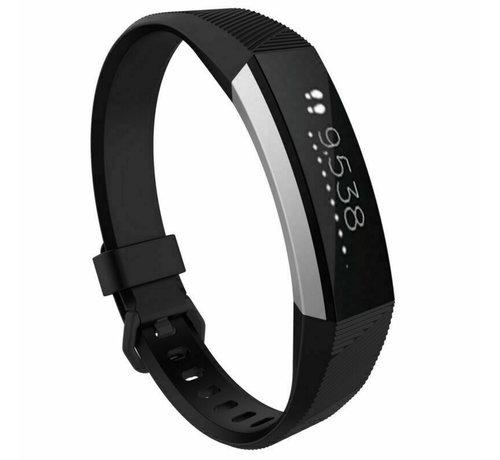 Strap-it® Strap-it® Fitbit Alta / Alta HR siliconen bandje (zwart)
