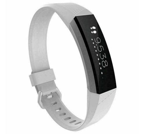 Strap-it® Strap-it® Fitbit Alta / Alta HR siliconen bandje (wit)